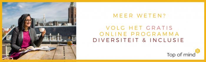 Online programma Diversiteit & Inclusie